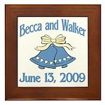 Personalized Wedding Tile Fav Framed Tile
