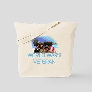 World War II Veteran Tote Bag