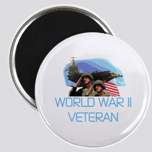 World War II Veteran Magnet