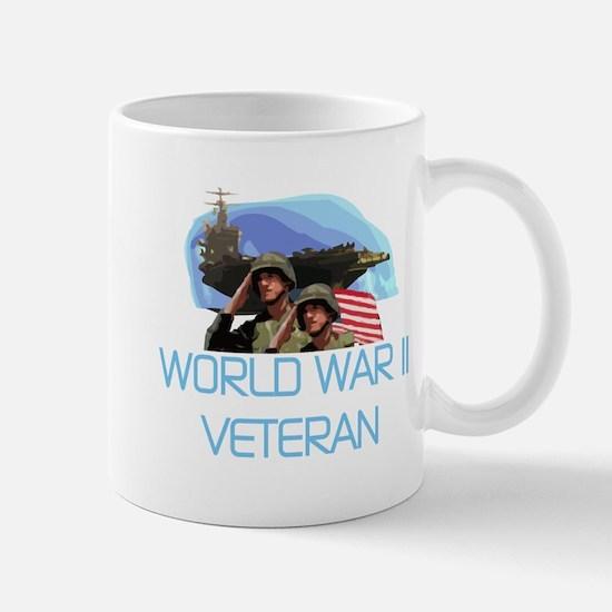 World War II Veteran Mug