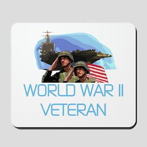 World War II Veteran Mousepad