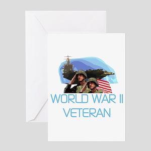 World War II Veteran Greeting Card