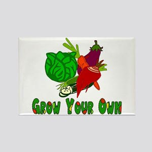 Grow Your Own Rectangle Magnet