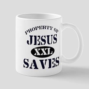 Property of Jesus saves Mug