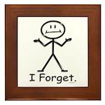 Forgetful Framed Tile