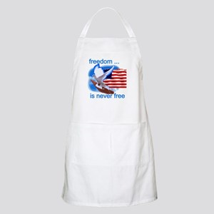 Freedom's Never Free BBQ Apron
