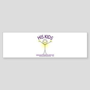 ATTITUDE OF GRATITUDE Bumper Sticker