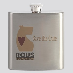 ROUS Foundation loo: Save the Cute Flask