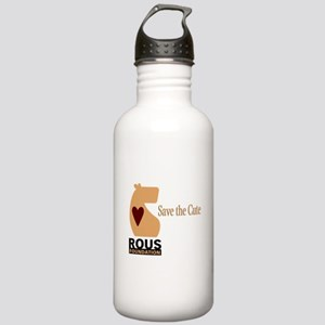 ROUS Foundation loo: Save the Cute Water Bottle