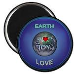 Earth, Joy, Love Magnets