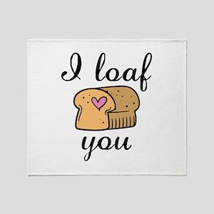 I Loaf You Stadium Blanket