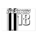 mustang 18 Postcards (Package of 8)