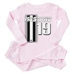 mustang 19 Toddler Pink Pajamas