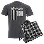 mustang 19 Men's Charcoal Pajamas