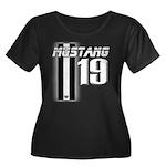 mustang 19 Plus Size T-Shirt