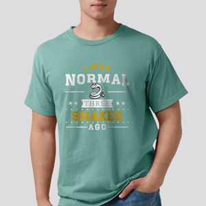 I Was Normal Three Snakes Ago T-Shirt