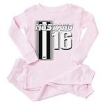 mustang 16 Toddler Pink Pajamas