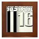mustang 16 Framed Tile