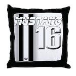 mustang 16 Throw Pillow
