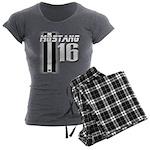 mustang 16 Women's Charcoal Pajamas