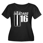 mustang 16 Plus Size T-Shirt