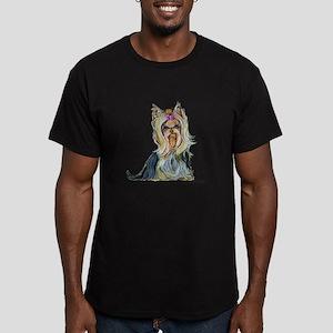Yorkshire Terrier Her Highnes Men's Fitted T-Shirt