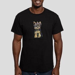 Yorkshire Terrier - Yorkie Bo Men's Fitted T-Shirt