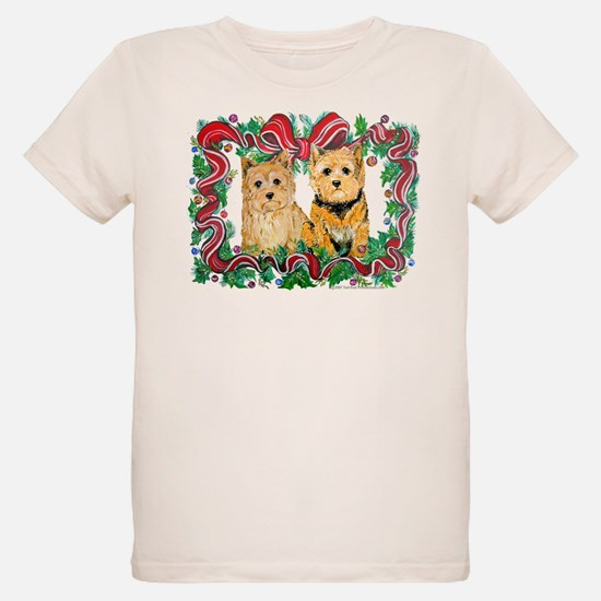 Norwich Terrier Winter Holida T-Shirt