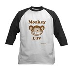 Monkey Luv Kids Baseball Jersey