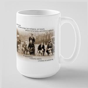 Vintage SBT print Crufts Large Mug