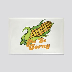 Me So Corny Rectangle Magnet