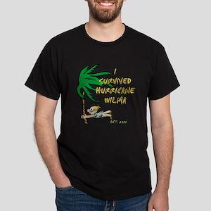 Palms Hurricane Wilma Black T-Shirt