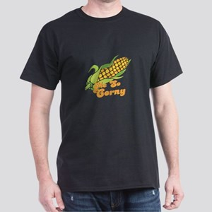 Me So Corny Black T-Shirt