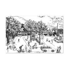 Woodstock Village Green Posters