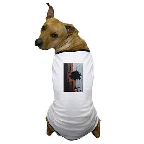 Palmetto Tree Dog T-Shirt
