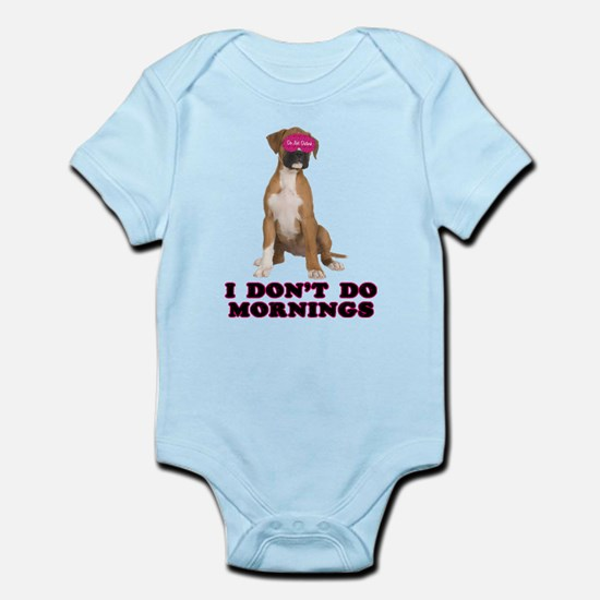 Boxer Mornings Infant Bodysuit