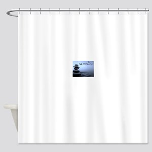 camelior - Stacked Stones Shower Curtain