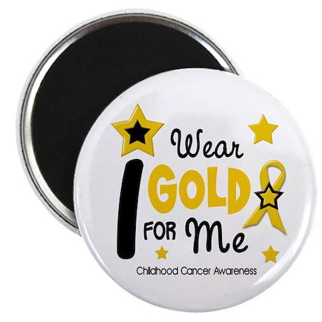 I Wear Gold 12 Me CHILD CANCER Magnet