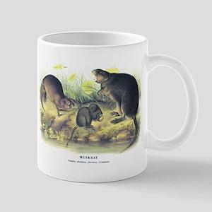 Audubon Muskrat Animal Mug