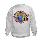 USS MYLES C. FOX Kids Sweatshirt