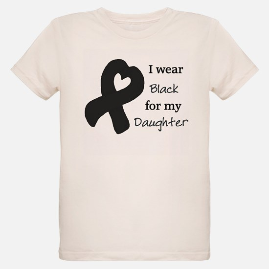 I WEAR BLACK for my Daughter T-Shirt