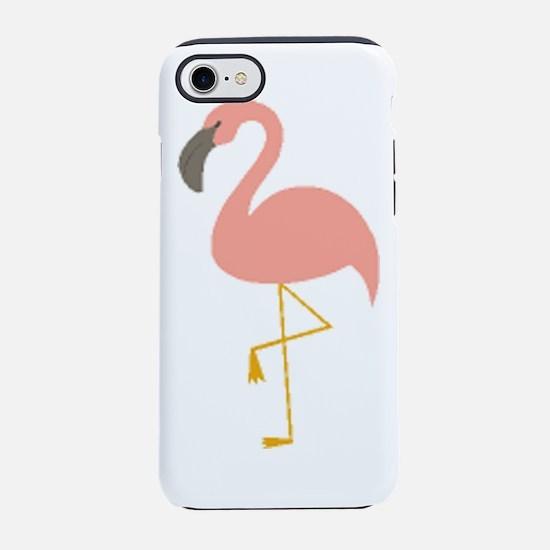 Flamingo Drawing Iphone 7 Tough Case
