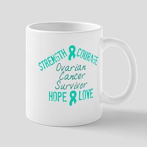 Ovarian Inspirational Awarene Mug