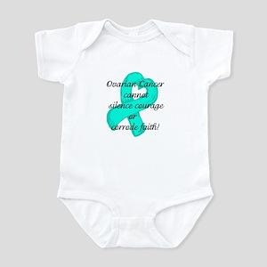 Ovarian Courage and Faith Infant Bodysuit