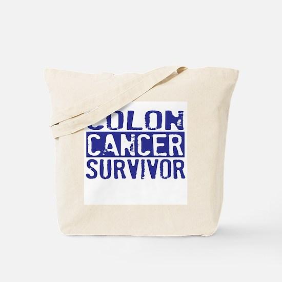 Proud Colon Cancer Survivor Tote Bag