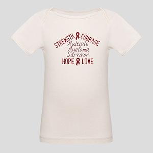 Multiple Myeloma Inspirationa Organic Baby T-Shirt