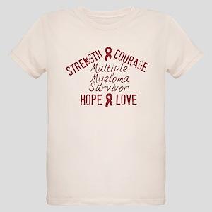Multiple Myeloma Inspirationa Organic Kids T-Shirt
