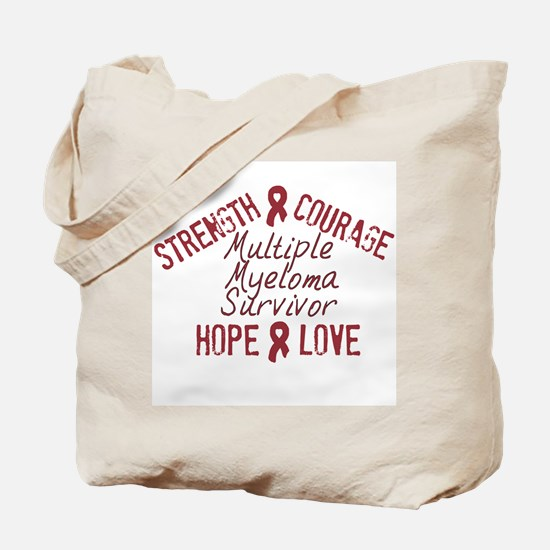 Multiple Myeloma Inspirationa Tote Bag