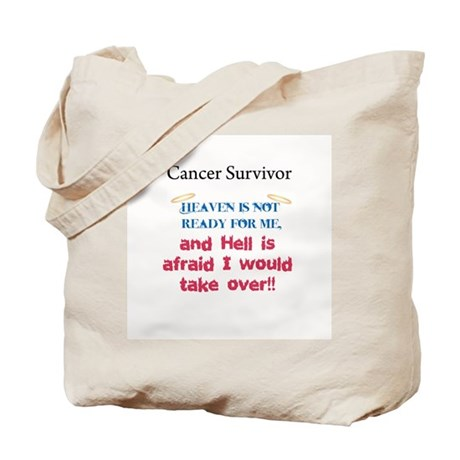 Heaven is Not Ready Tote Bag