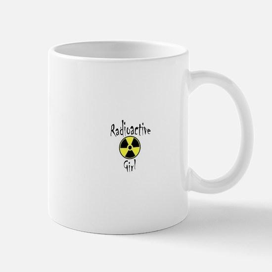 Radioactive Girl Mugs